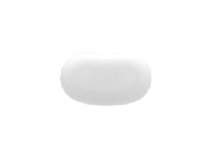Schälchen bohnenförmigShallow bowl, bean-shapedCoupelle haricotCoppetta a fagiolo