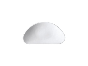 Beilage HalbmondAccent dish moon-shapedAssiette de garniture en demi-luneMezza luna