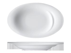 Teller tief oval »Fondo ovale«Plate deep ovalAssiette creuse ovalePiatto fondo ovale