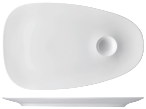 Platte flach »TOC«Platter flatPlatPiatto piano