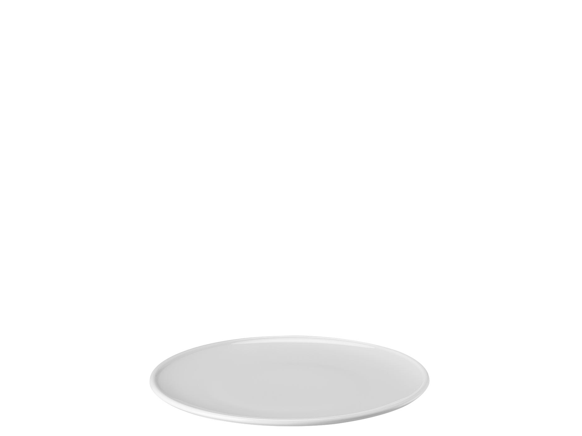 Teller flach glattPlate flat plain[Französisch] Piatto piano