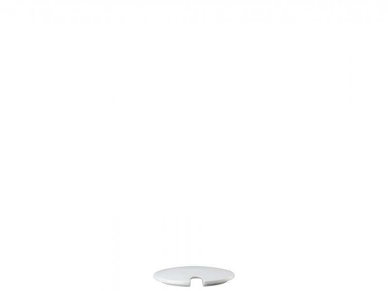 Zudo Dkl. m.Einschn.Sugar bowl lid w.ind[Französisch] Coper. zuc.c/tacca