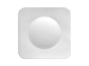 Teller flach quadratischPlate flat squareAssiette plate carréePiatto piano quadrato