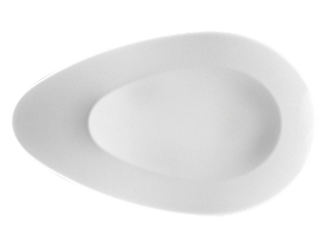 Gourmetteller flach ovalGoumet plate flat ovalAssiette Gourmet plate ovalePiatto piano ovale a goccia