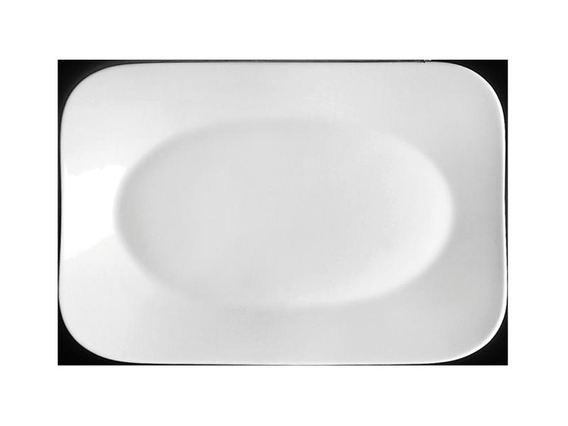 Platte flach rechteckigPlatter flat rectangularAssiette plate rectangulairePiatto piano rettangolare
