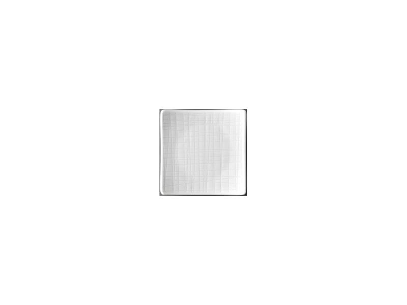 Teller 9 cm quadr. flachPlate 9 cm square flatAssiette carrée 9 cm platePiatto quadrato piano 9 cm