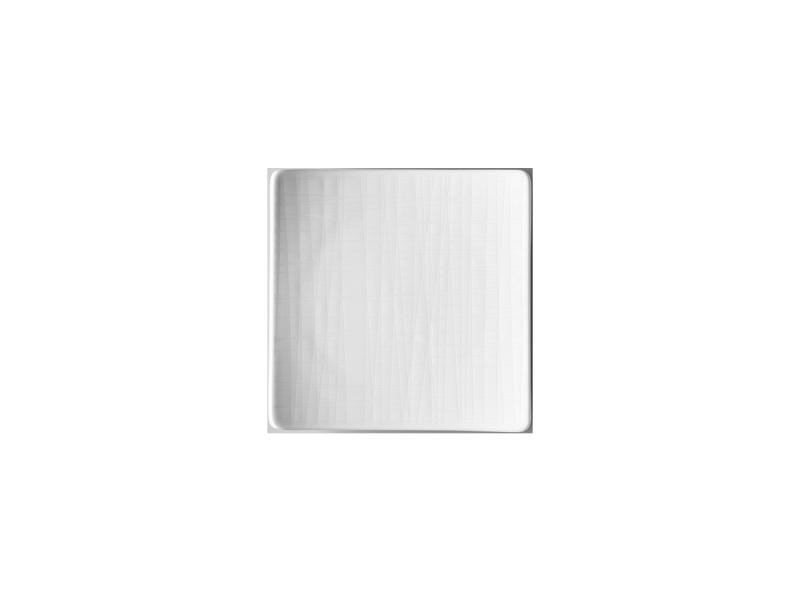 Teller 14 cm quadr. flachPlate 14 cm square flatAssiette carrée 14 cm platePiatto quadrato piano 14 cm