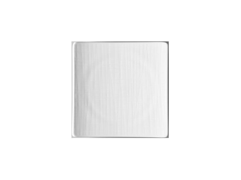 Teller 17 cm quadr. flachPlate 17 cm square flatAssiette carrée 17 cm platePiatto quadrato piano 17 cm
