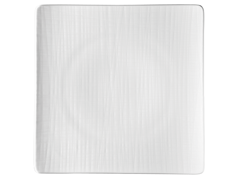 Teller 31 cm quadr. flachPlate 31 cm square flatAssiette carrée 31 cm platePiatto quadrato piano 31 cm