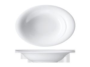 Teller tief oval »Fondo«Plate deep ovalAssiette creuse ovalePiatto fondo ovale