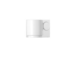 Espresso-Obertasse stapelbarCup stackableTasse empilableTazza impilabile