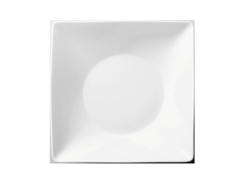 Teller tief quadratischPlate deep squareAssiette creuse carréePiatto fondo quadrato