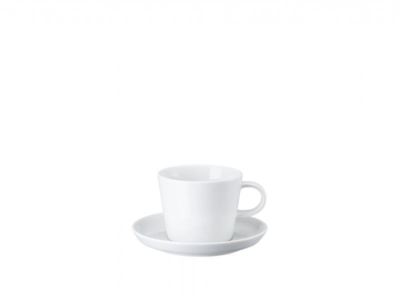 Cafe au Lait 2-tlg.Cafe au lait cup&saucer[Französisch] Tazza caffelatte, 2pz