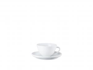 Cappuccinota. 2-tlg.Cappuccino cup&sauc.[Französisch] Taz. cappuccino, 2pz